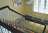 Banister, after repair by Home Enhancements.