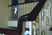 Banister, after restoration by Home Enhancements.